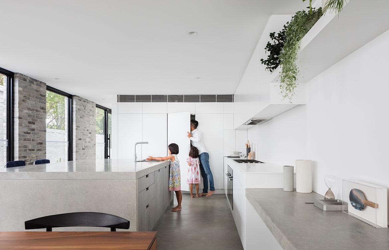 Bronte Residence cm studio cc Katherine Lu kitchen