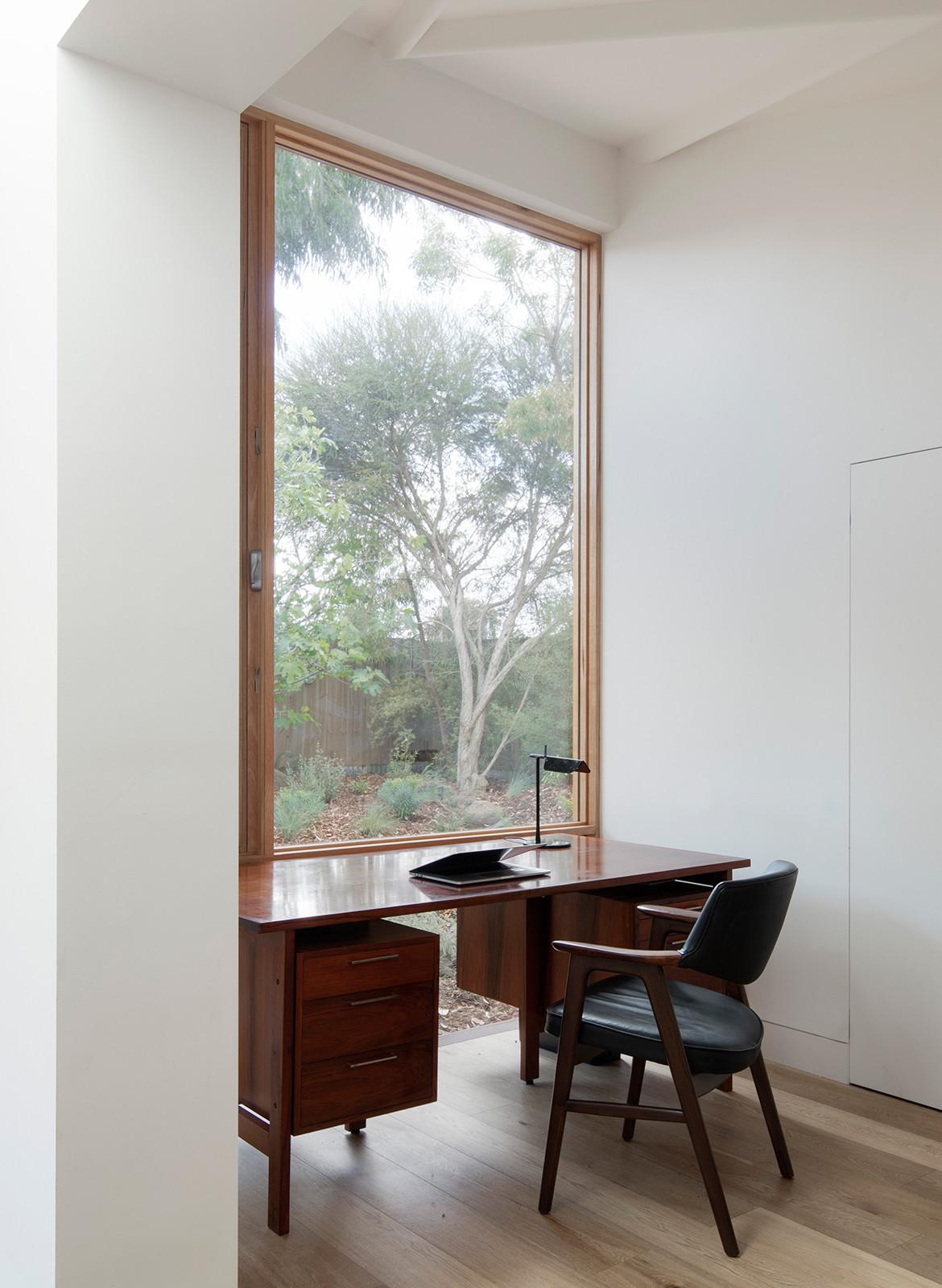 Brunswick House Winwood McKenzie Benjamin Hosking study nook
