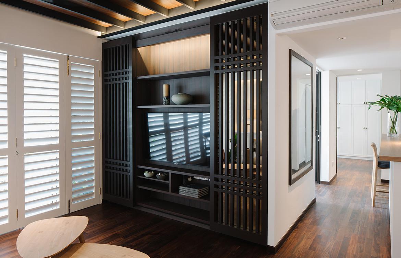 Bukit Regency Goy Architects TV cabinet