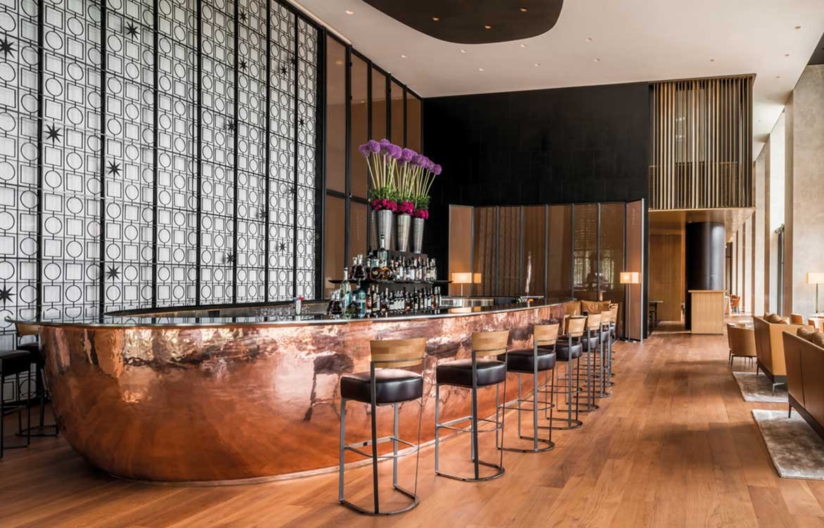 Bulgari Hotel Beijing bar