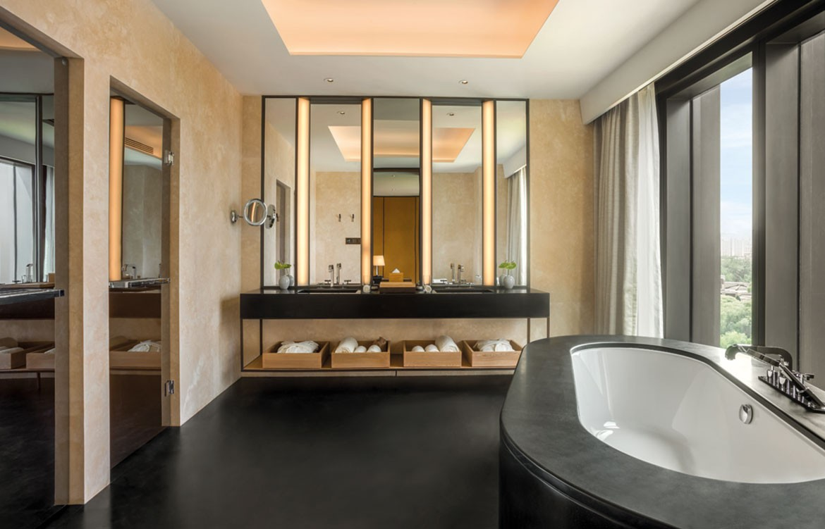 Bulgari Hotel Beijing bathroom