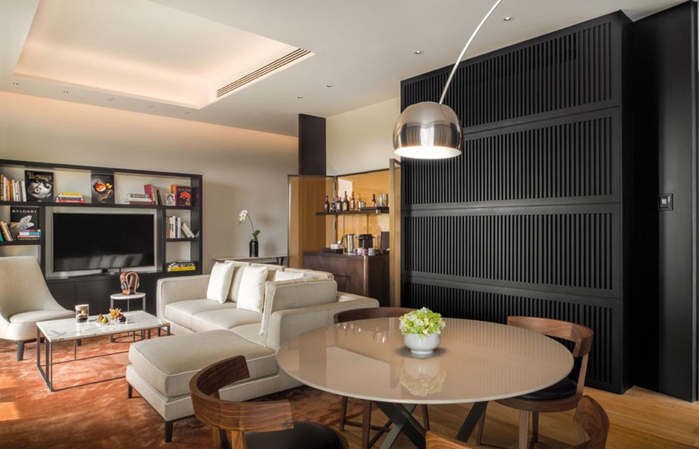 Bulgari Hotel Beijing lounge
