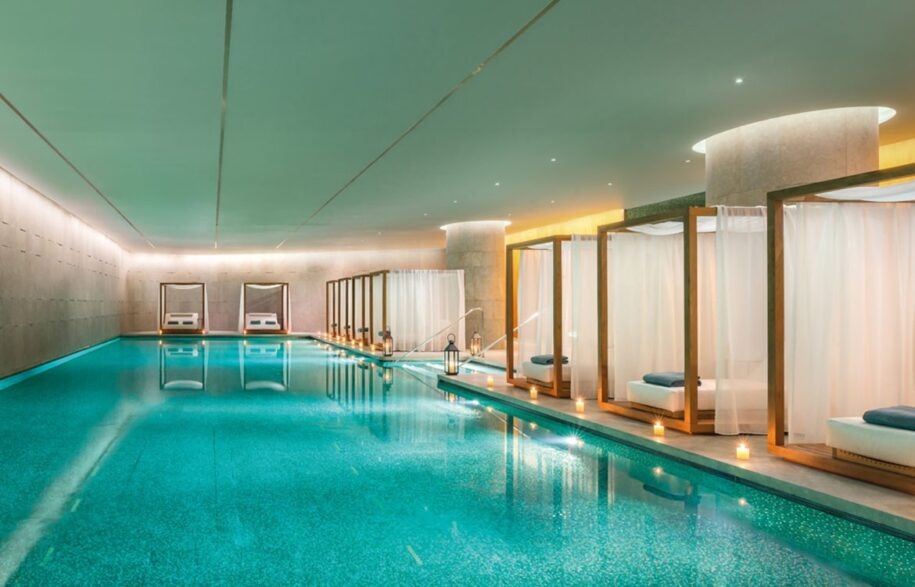 Bulgari Hotel Beijing pool