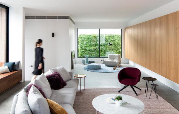 Bulleen House MODO cc Benjamin Hosking living room