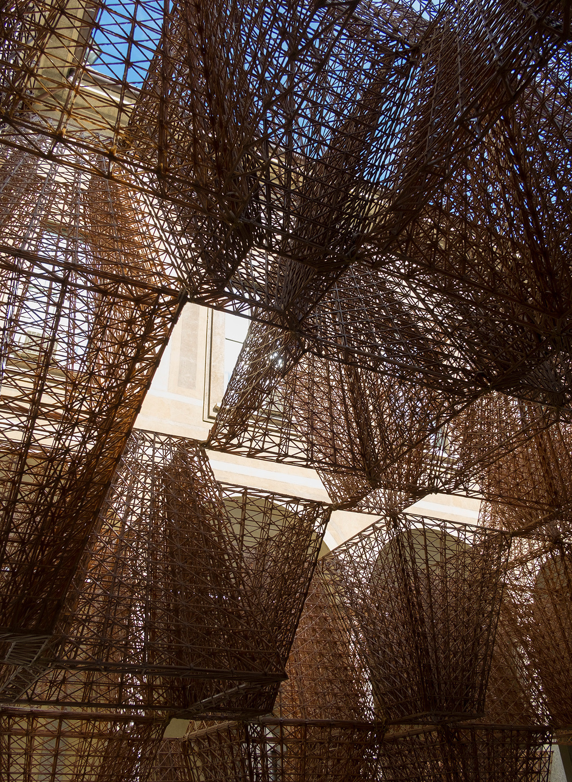 COS Arthur Mamou-Mani Conifera Milan Design Week