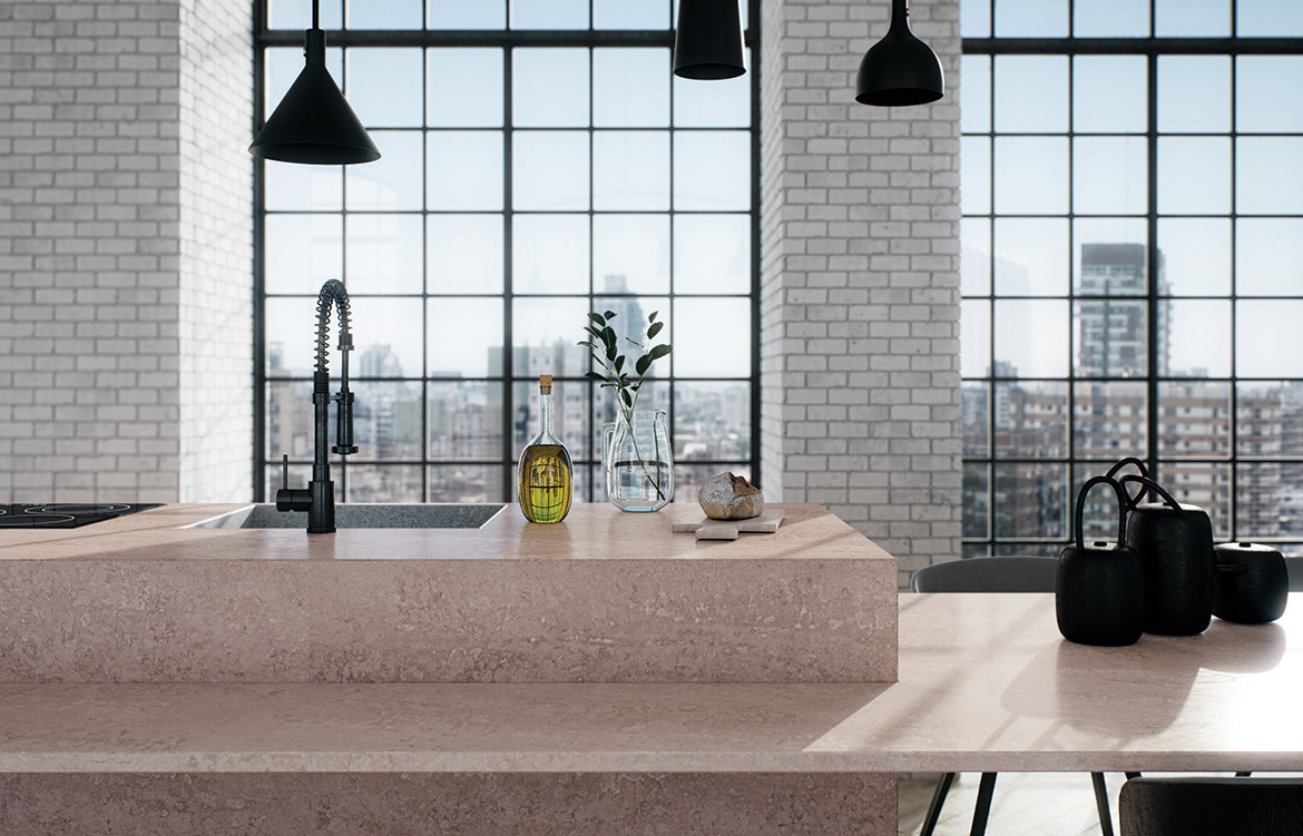 Habitus Loves... Solid Surfaces Caesarstone Topus Concrete