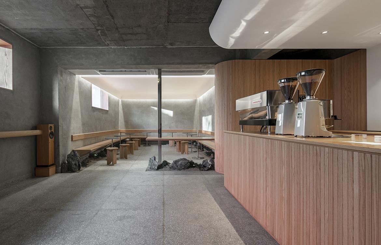 Cafe Oriente Labotory CC Yongjun Choi barista counter and seat