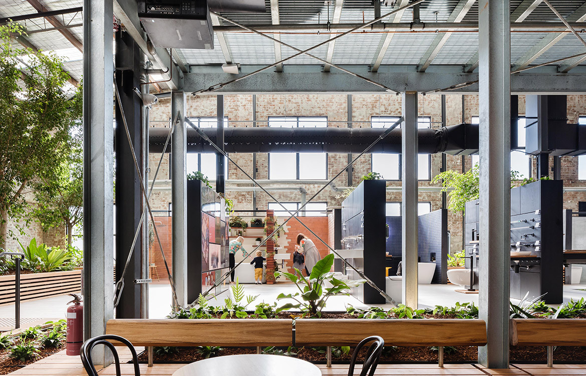 Caroma On Collins Archier Cc Katherine Lu INDE.Awards The Shopping Space Shortlist
