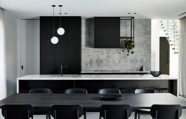 Casa Chiroscuro by Biasol | contemporary monochrome minimalist interior design