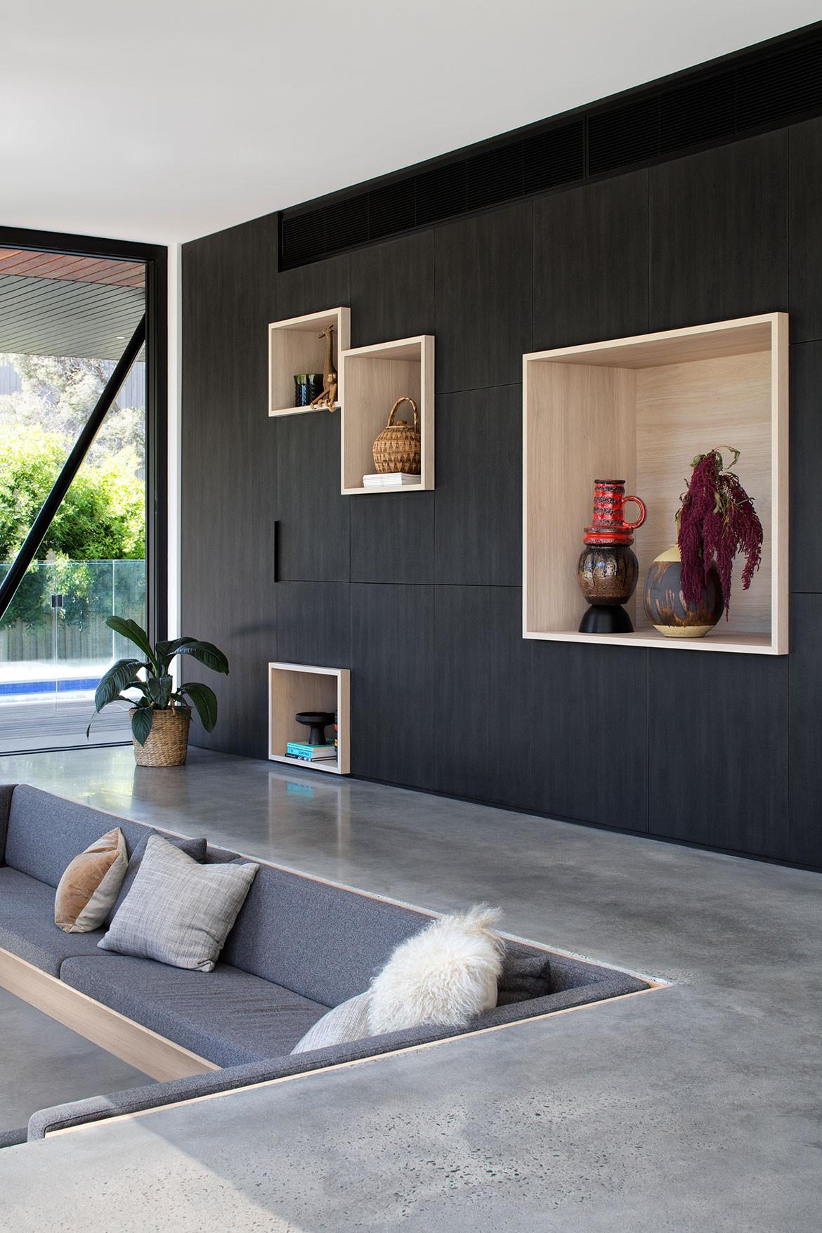 Conversation Piece The Sunken Lounge Habitus Living Sunken living room means