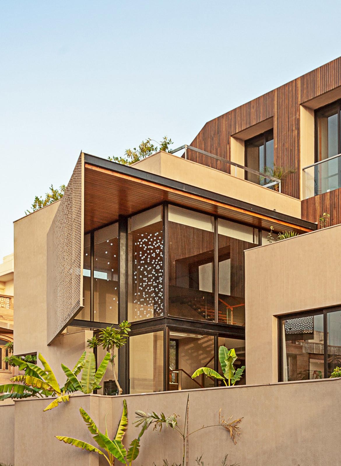 Chavvi House Vastu Shastra Abraham John Architects exterior