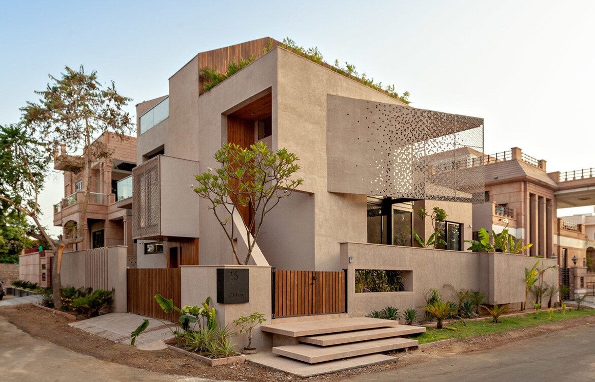Chavvi House Abraham John Architects exterior view