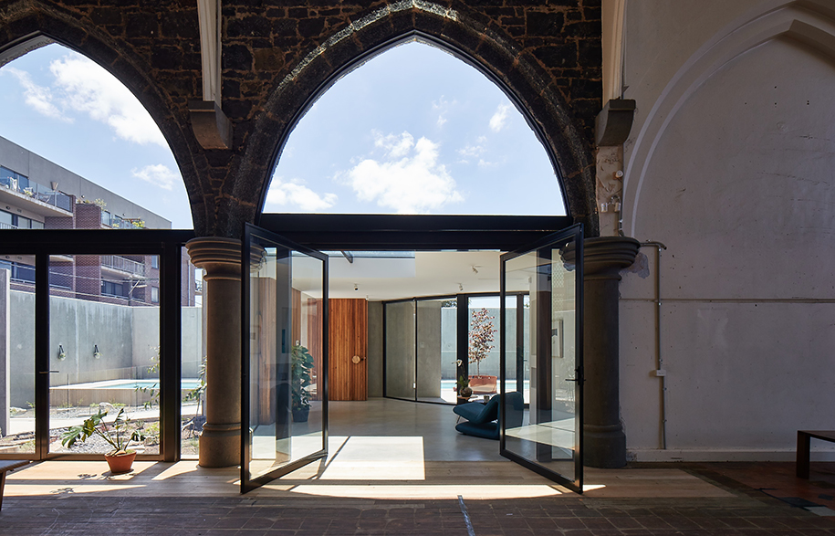 Church Conversion Kister Architects entrance