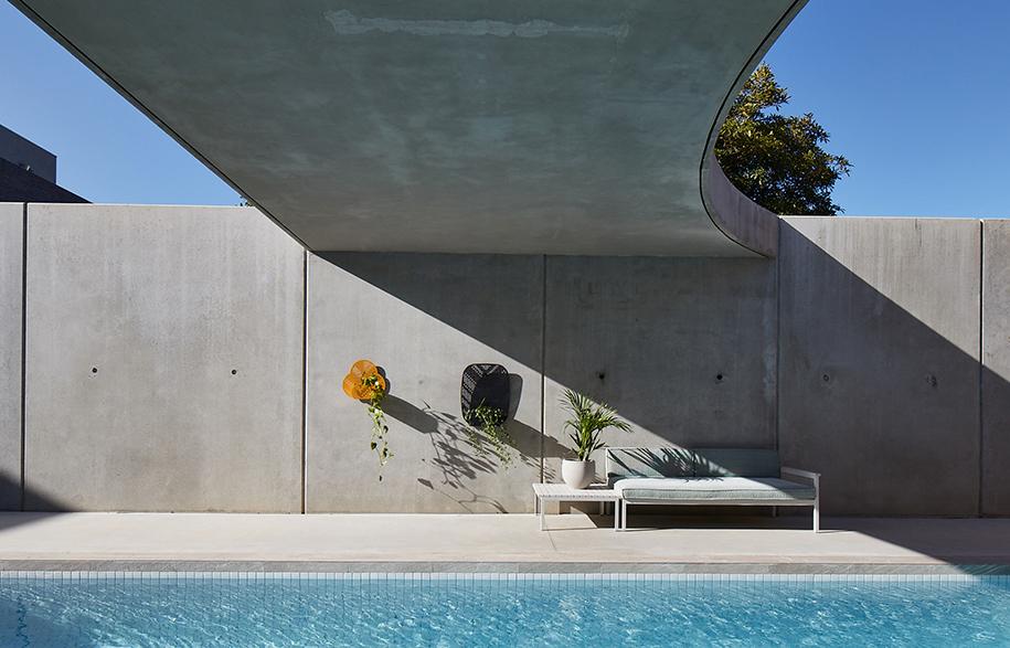 Church Conversion Kister Architects pool