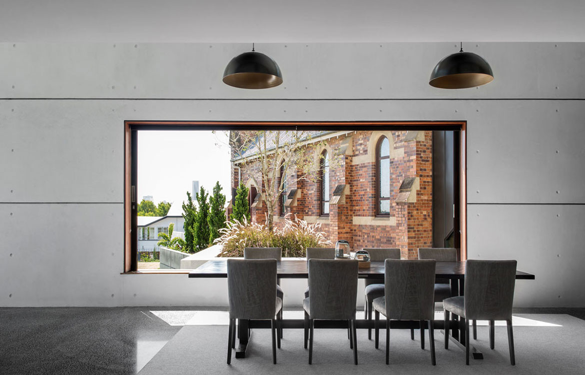 Church House DAH Architecture cc Cathy Schusler dining space