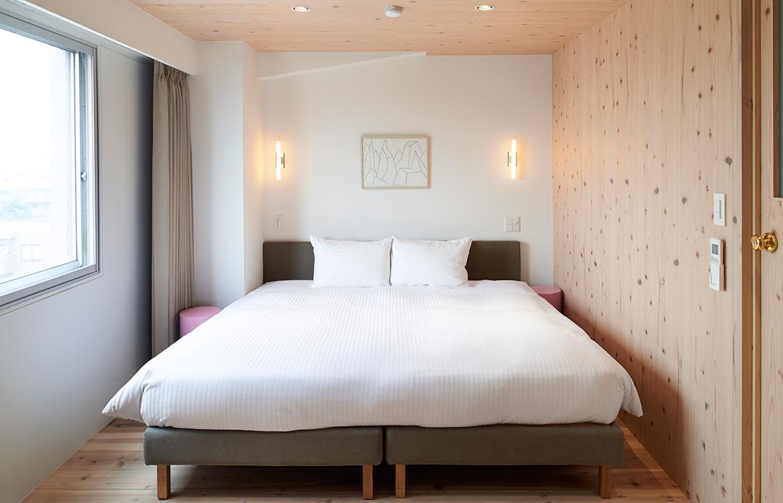 Claska hotel tokyo bedroom