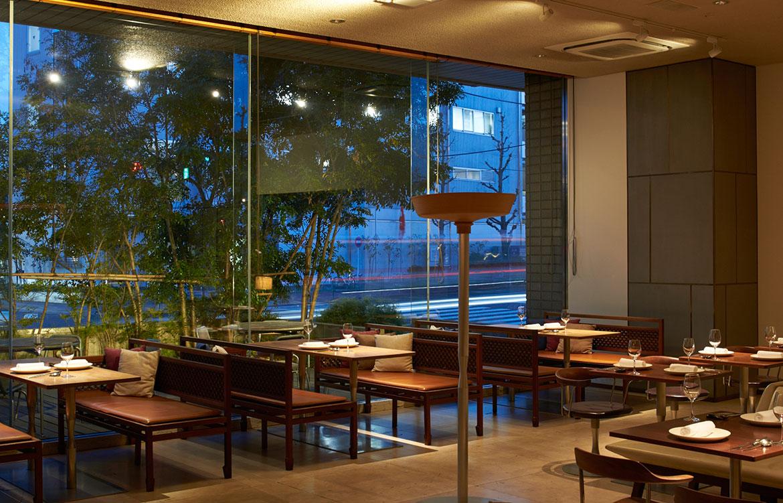 Claska hotel tokyo restaurant