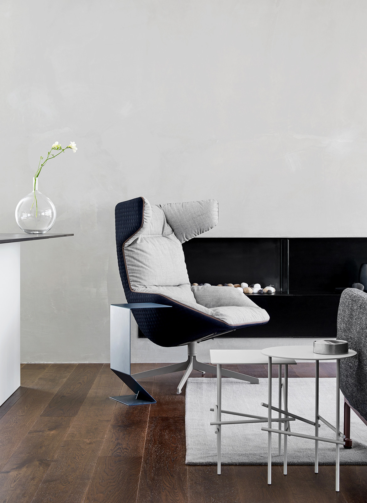 Collection XI K2LD Architects cc Jeremy Wright arm chair fire place