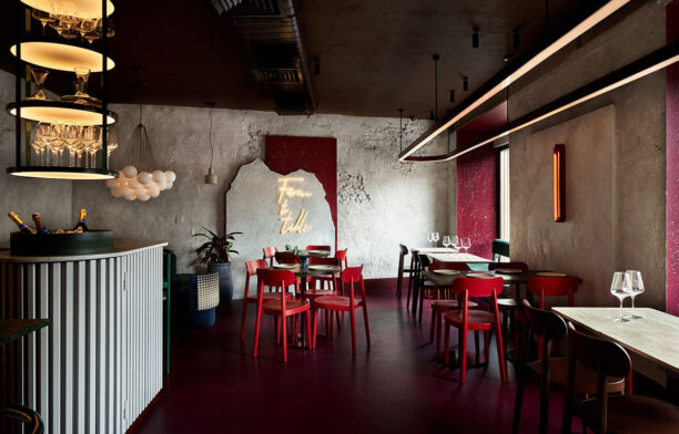 Commons Restaurant, Moscow by Yuloo Studio