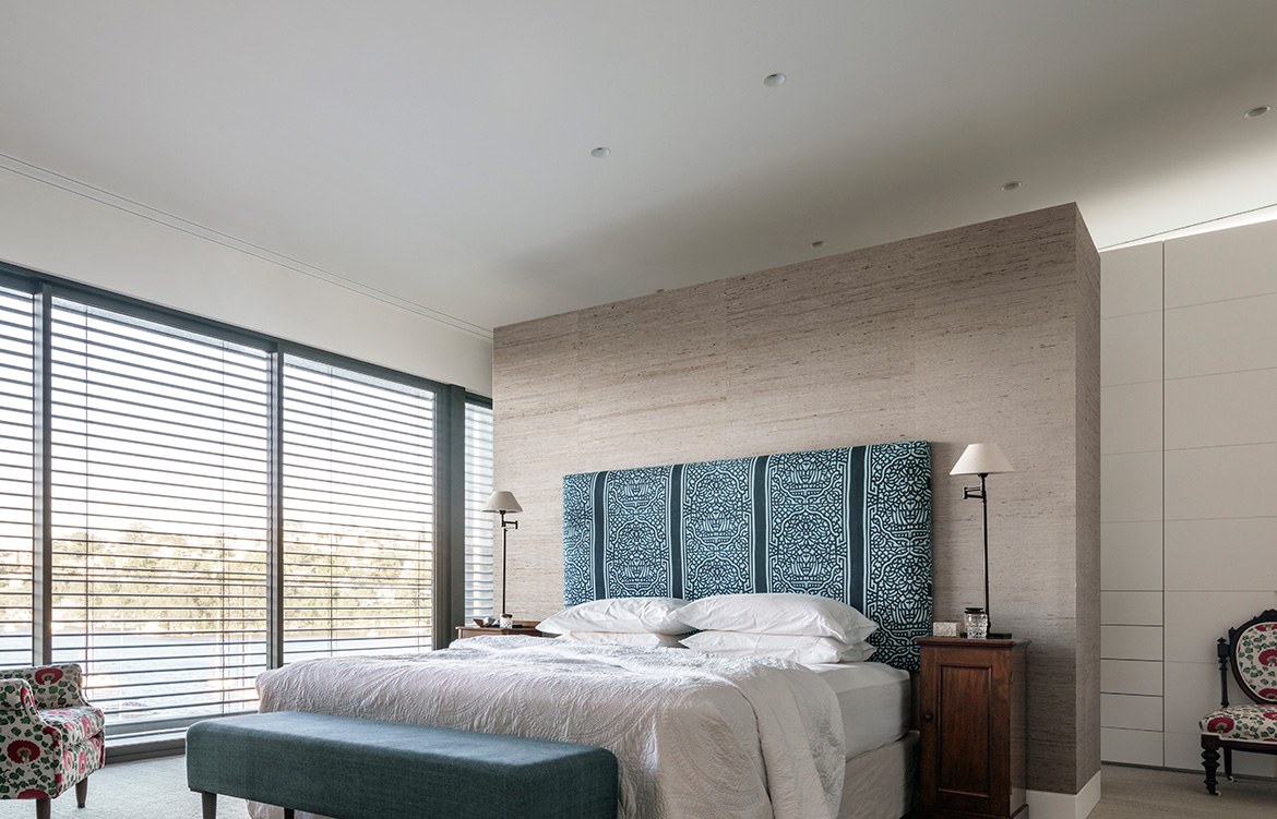 Coolawin Road Corben Architects bedroom
