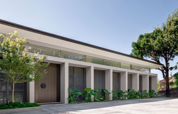 Coolawin Road Corben Architects exterior