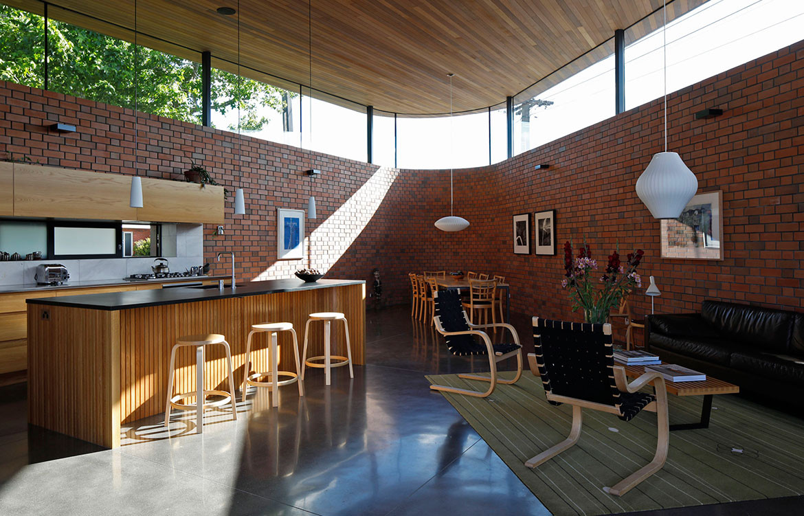 Courtyard House Guy Tarrant Architects Kitchen