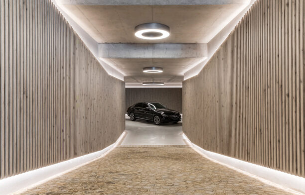 Covet Garage Kernstrom Architects entrance