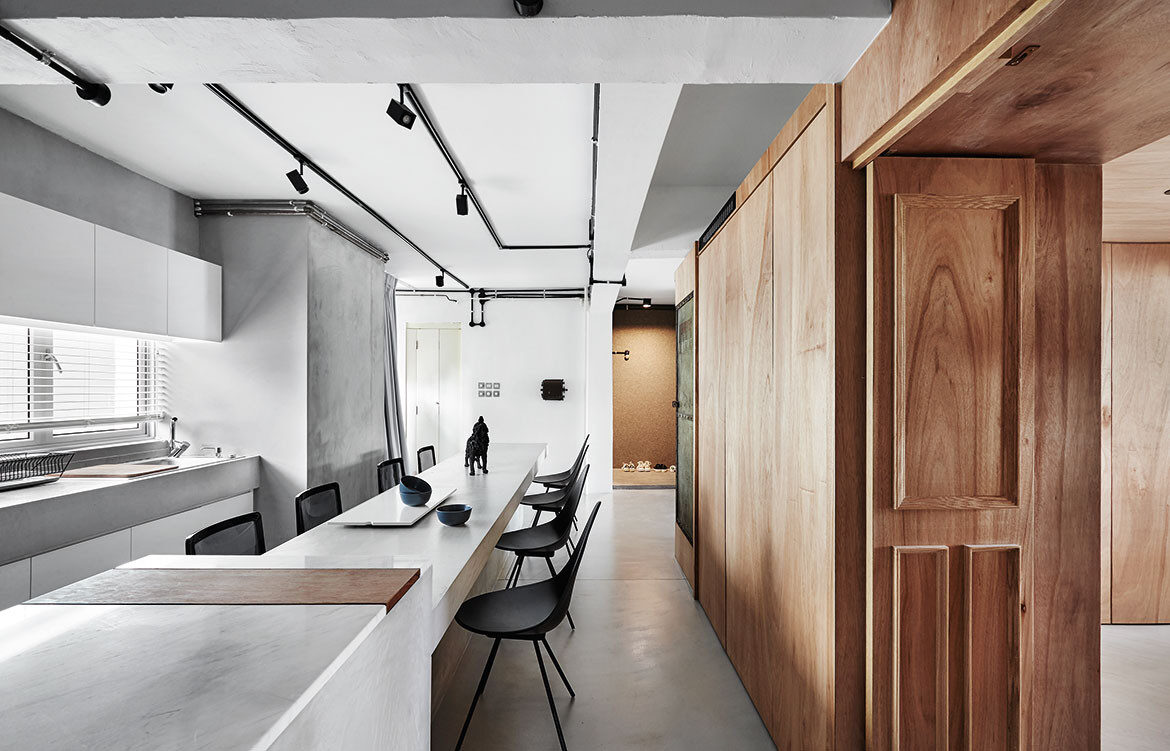 The Wood Crate Apartment Upstairs In Singapore | Habitus Living