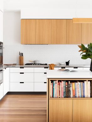 Sustainable design collaborations | Creek House by Cantilever Interiors and Vicki McLean mid-century inspired kitchen design