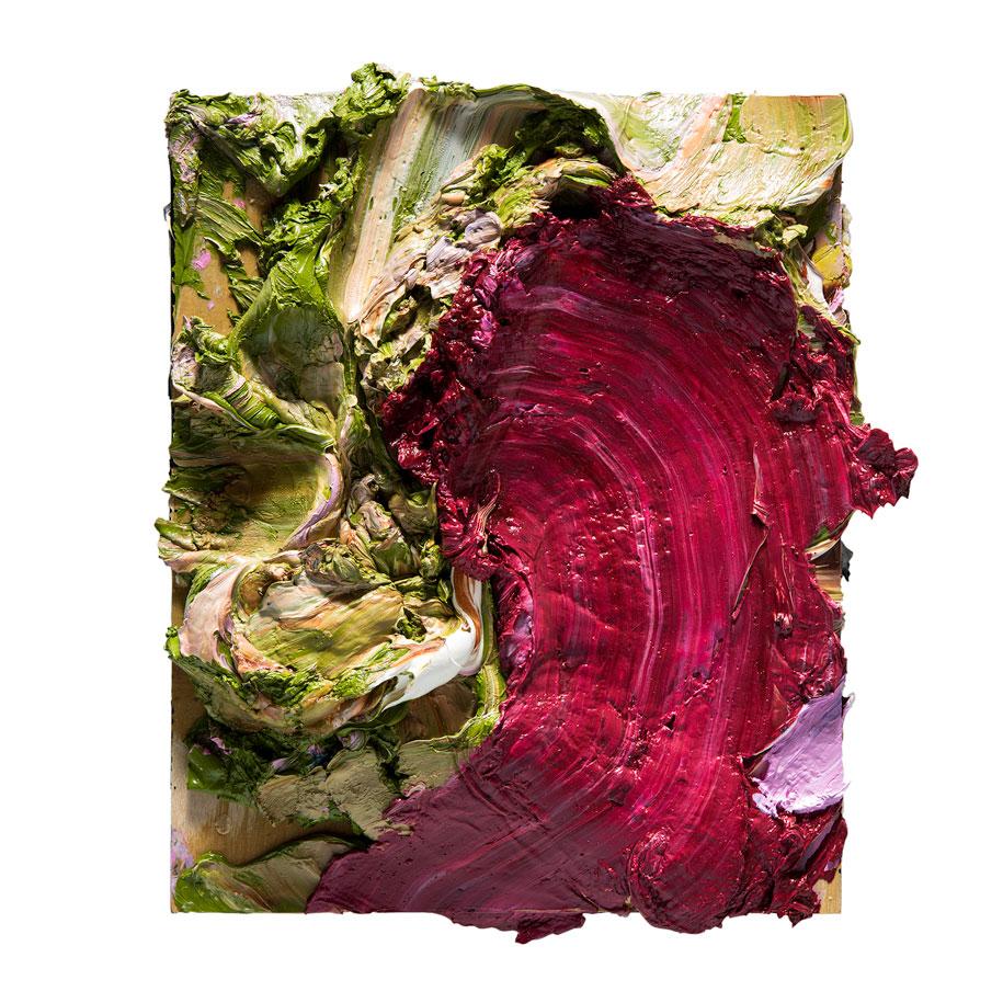 Crimson-Gum-Rose-25x30cm-Oil-on-Birch