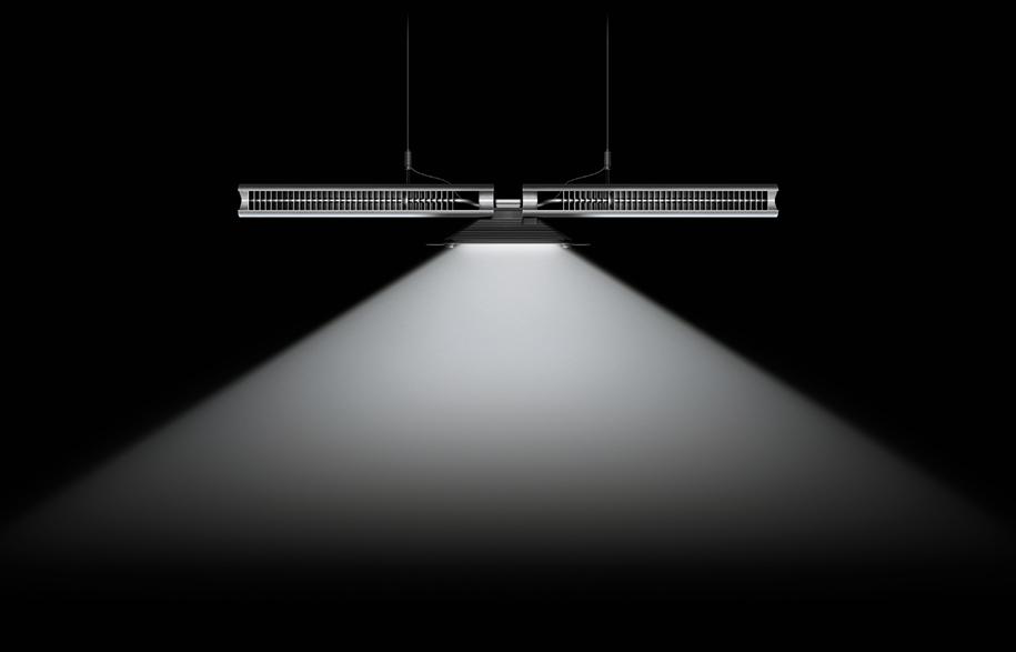 Cu-Beam-down-light-black-background