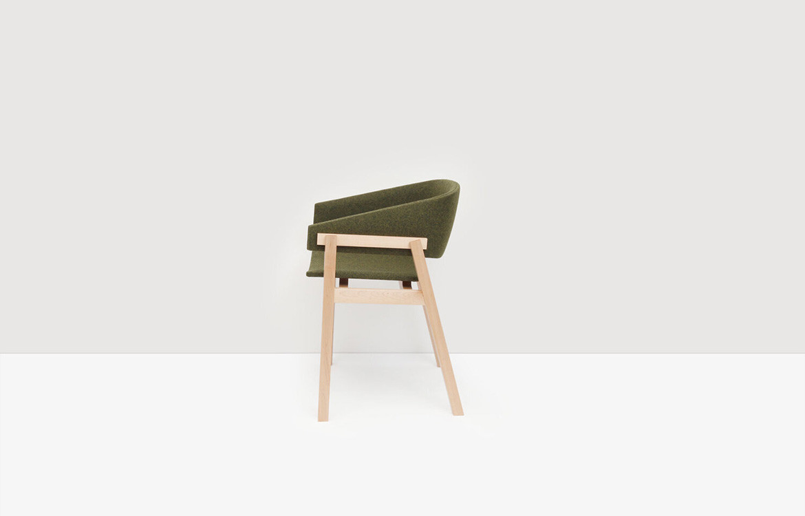 Cusp Dining Chair Olive