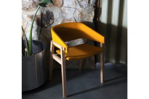 Cusp Yellow Chair