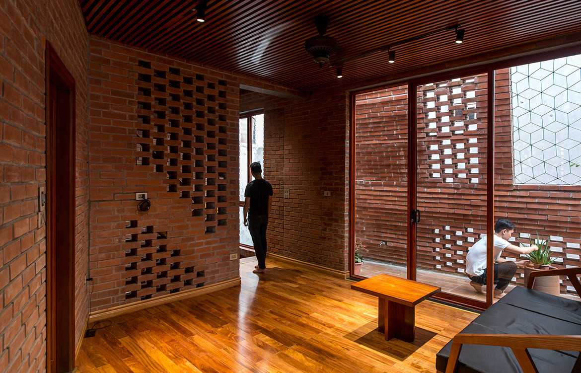 Brick Cave H&P Architects Nguyen Tien Thanh screen