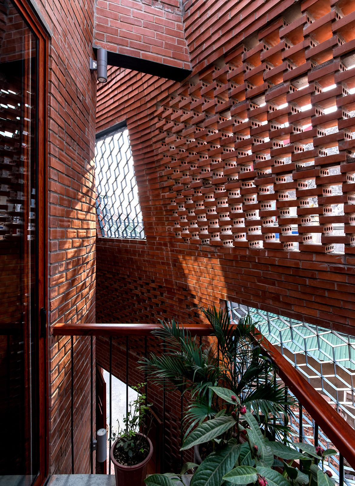Brick Cave H&P Architects Nguyen Tien Thanh bricks