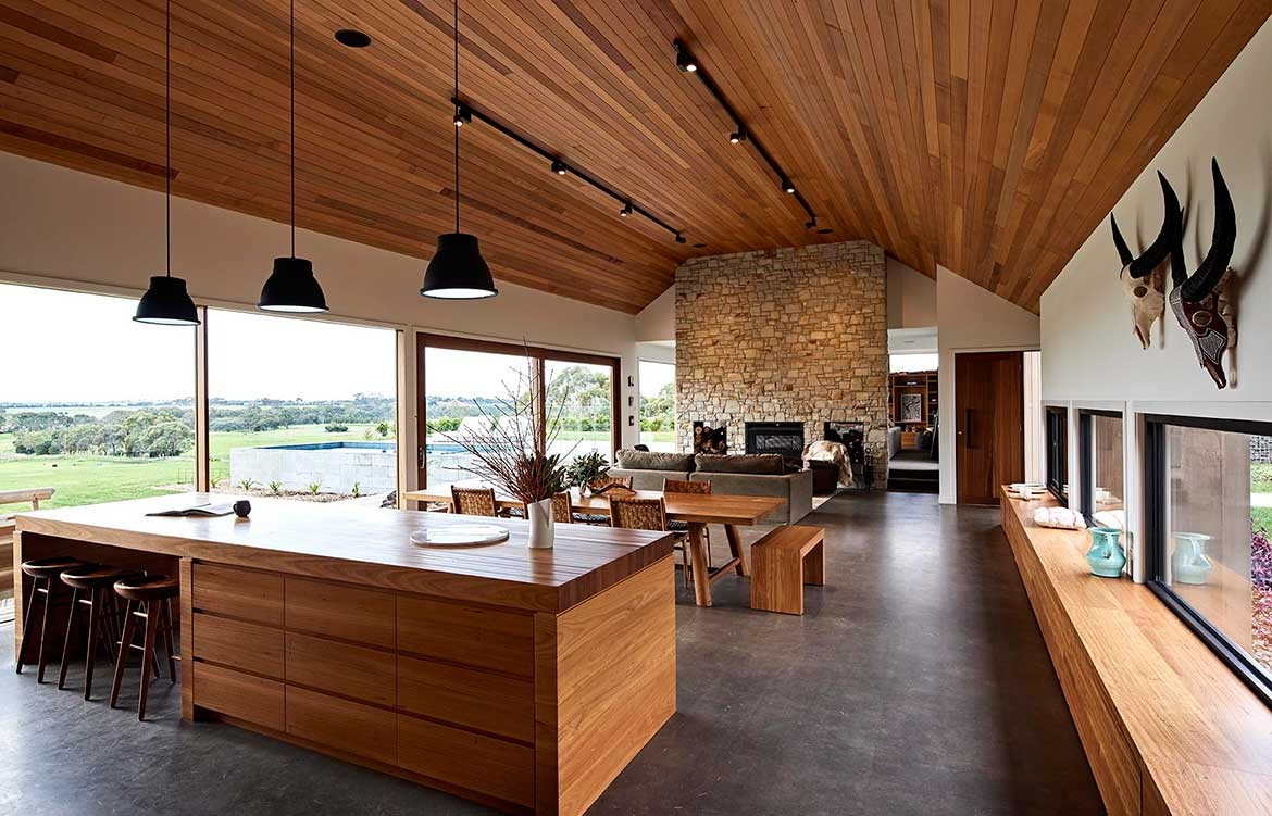 Dan Gayfer Design Ceres House kitchen dining