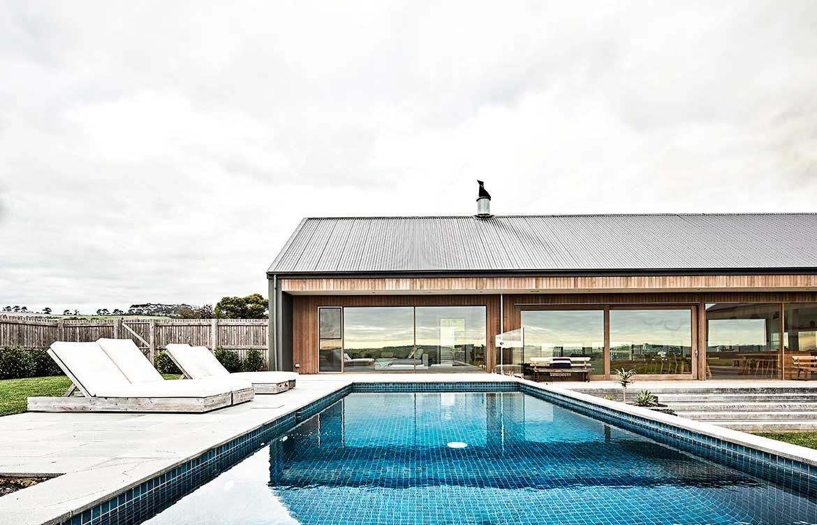 Dan Gayfer Design Ceres House pool house