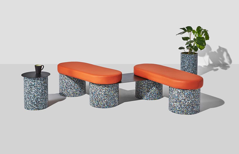 DesignByThem Confetti Range GibsonKarlo cc Pete Daly bench planter