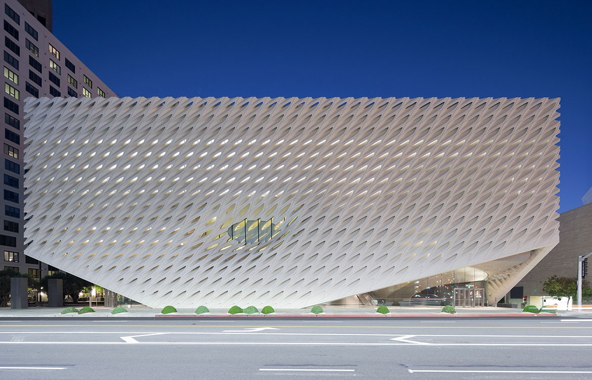 Diller Scofidio Renfro The Broad Museum LA