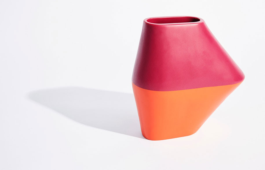 Dinosaur-Designs_Colour-Block_Homewares_Single-RedOrange-Vase