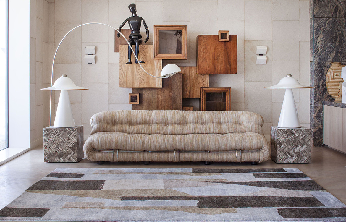 Habitus Loves Art Deco Resurgence district rug by kelly wearstler