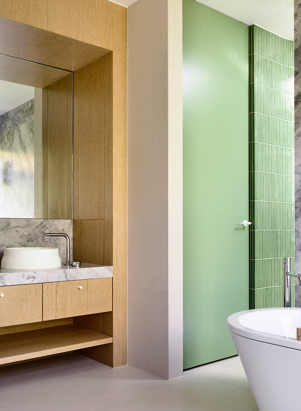 Doherty Design Studio Ivanhoe Residences CC Derek Swalwell bathroom