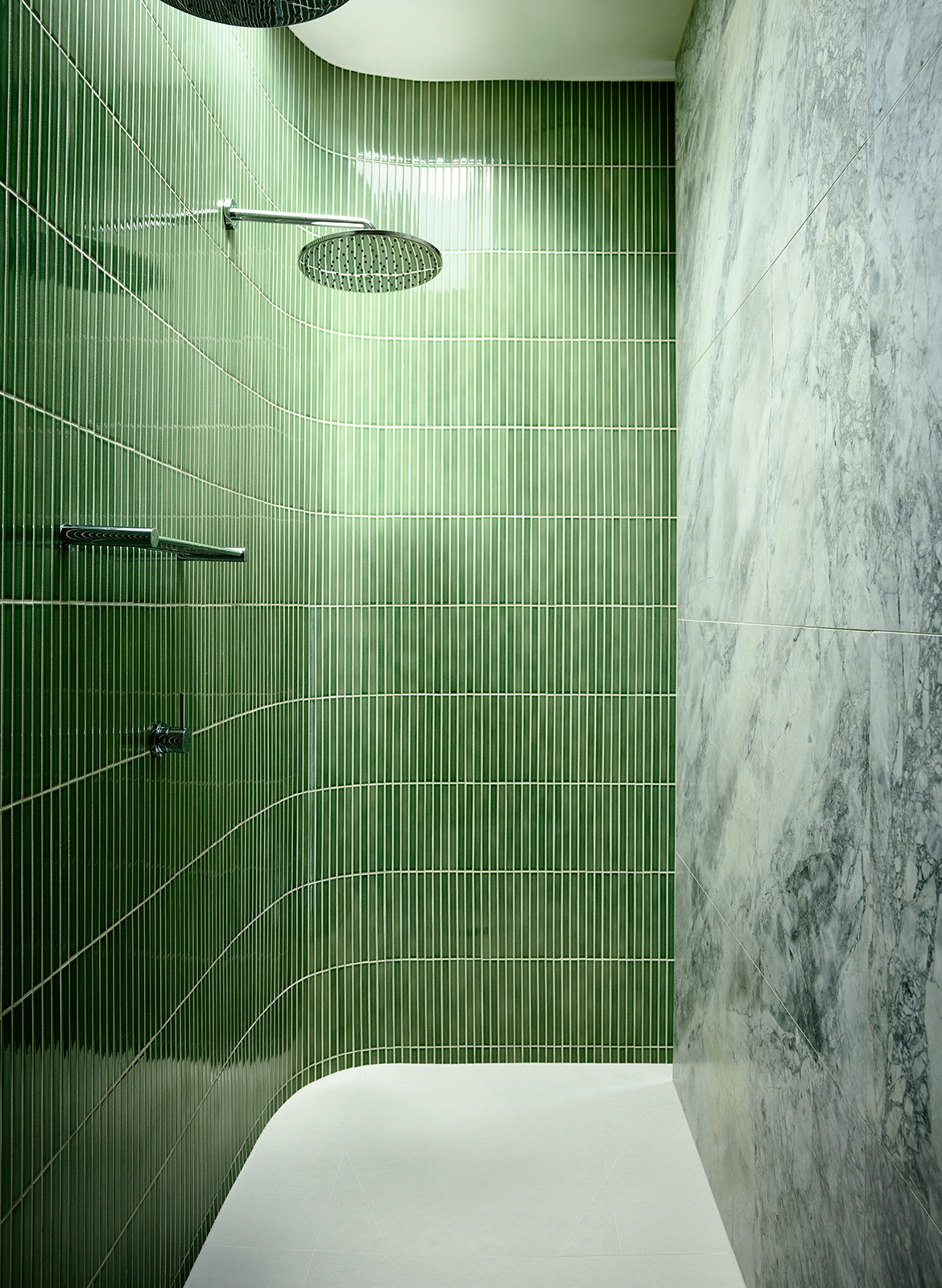 Doherty Design Studio Ivanhoe Residences CC Derek Swalwell shower and tiles