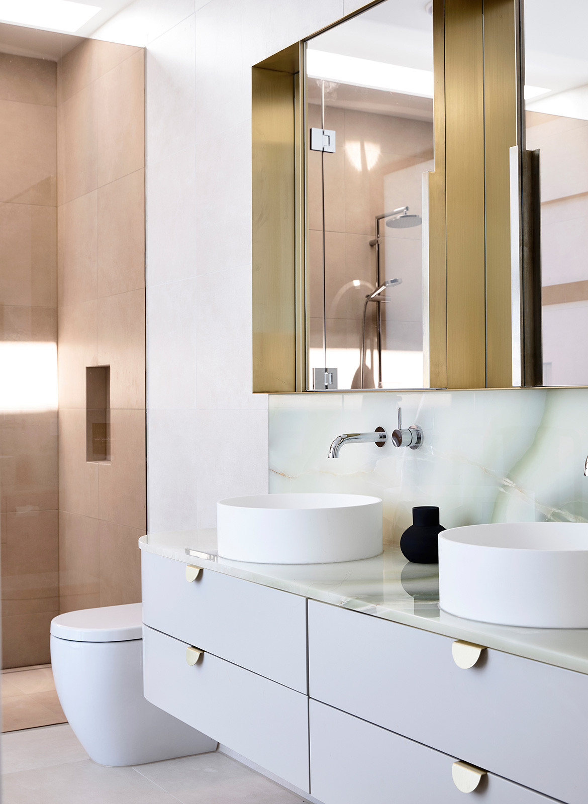 Doherty Design Studio Kew Residences CC Derek Swalwell double sink