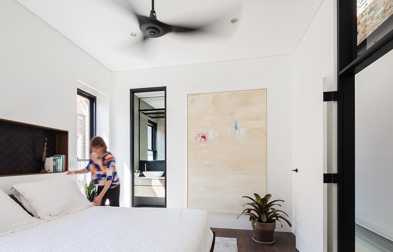 Doorzien House Bijl Architecture cc Katherine Lu master bedroom