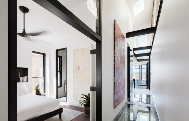 Doorzien House Bijl Architecture cc Katherine Lu custom skylights