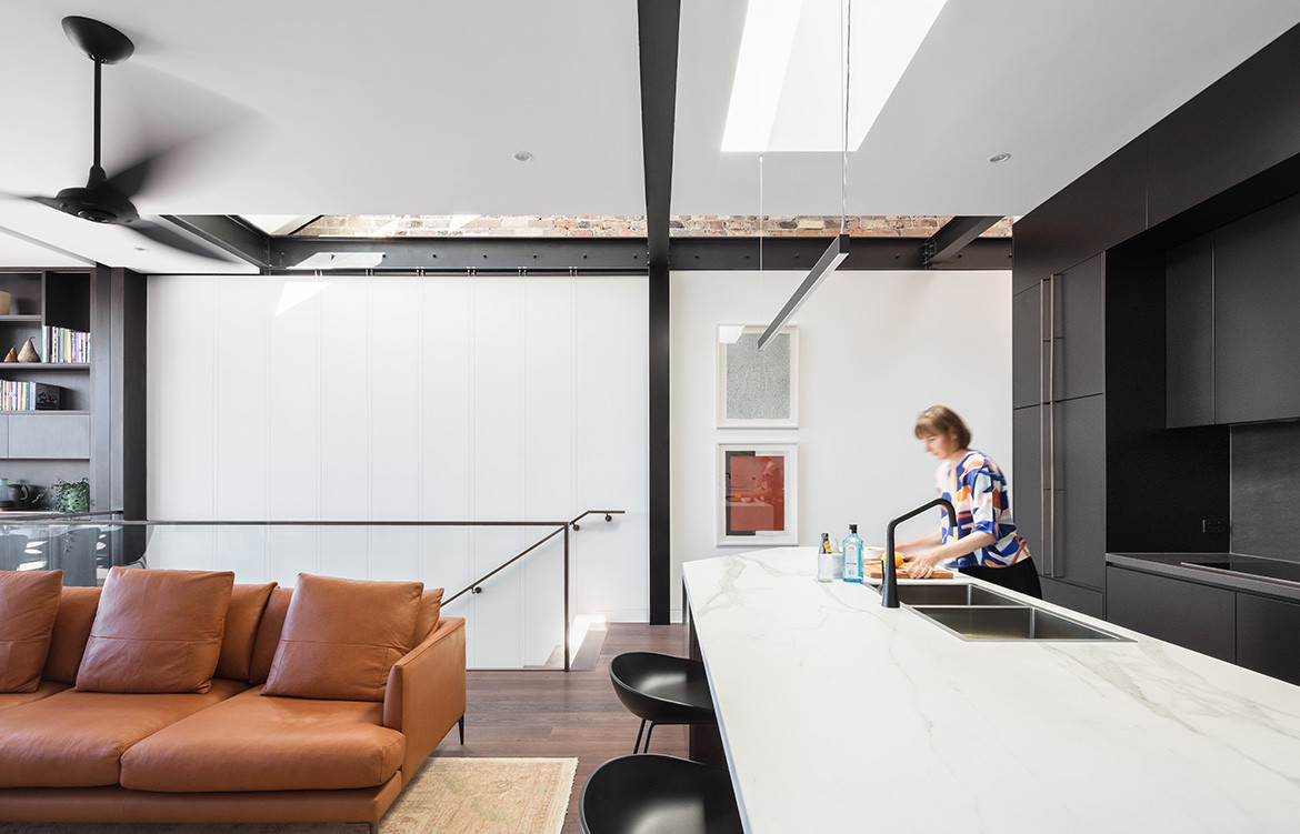 Doorzien House Bijl Architecture cc Katherine Lu open plan kitchen