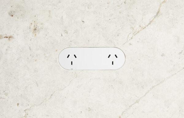 Double Outlet White 1