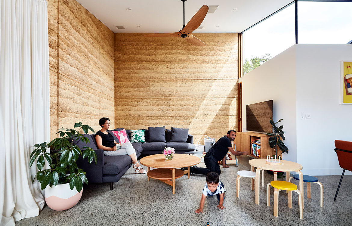 Rammed Down To Earth House Steffen Welsch Architects CC Rhiannon Slater