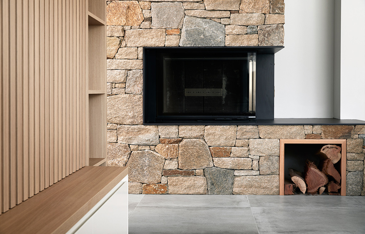 Earp Bros x Webber Architects cc Alexander McIntyre Photography | fireplace